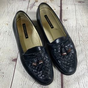 Florsheim Black Leather Loafers